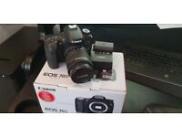 Canon 70D DSLR camera and 18-55mm canon lens. excellent condition. low shutter count.