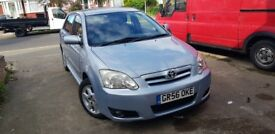 2007 Toyota Corolla 1.4 Petrol Manual