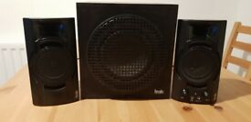 Hercules XPS 2.1 Bassboost sub and speakers - PC