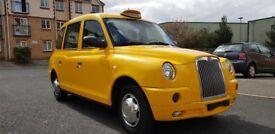 LTI TX4 TAXI GOLD 2.4 MITSUBISHI PETROL ENGINE 200 MILES NEW CAB LEFT HAND DRIVE