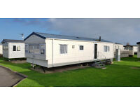 2 Bed caravan for hire/rent, West Sands,Selsey near play park. Weekend 25th Sept