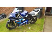 Suzuki gsxr 600 k5 £1800 today ONLY 21/07