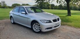2007 Bmw 320i, Full Service History, Silver, Saloon