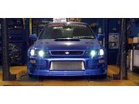Subaru impreza classic 2l turbo 338.5bhp