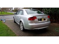 Audi A4 S-Line Think Engine Gone clean