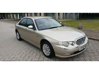 2003 ROVER 75 CONNOISSEUR SE CDT AUTO 58K MILES FSH STUNNING EXAMPLE RARE AUTO ELECTRIC REAR BLIND
