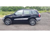 TOYOTA RAV4 FACTORY BLACK