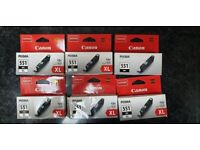 6 available: Genuine NEW Canon CLI-551XL Black Ink Cartridge for Pixma MG7150 IP8750 MX925