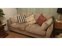 Next L shaped 5/6 seater sofa & 3 seat sofa