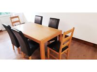 Like Brand NEW Dinning/Kitchen table + 6 chairs