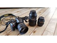 Nikon D3200 with Lenses | 2900 shutter count | Great Condition