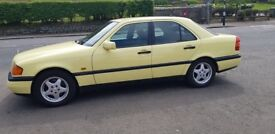 Mercedes-Benz C180 Esprit**Manual**FULL YEARS MOT**Rare old thing & Fairly Rust free too!!