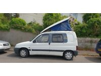 Small peugeot campervan
