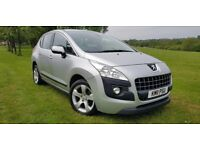 Peugeot 3008 1.6 VTi Sport 5dr LOW MILEAGE+1 OWNER