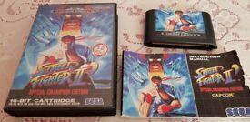 Saga Megadrive Street Fighter 2 Game