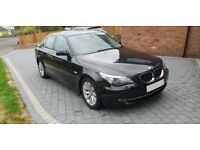BMW E60 5 series 520D SE Manual Diesel Saloon. 1 owner. FSH. Facelift model.