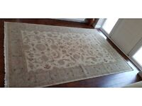 Sino-Persian Handknotted Wool Rug 9ftx6ft (280cmx185cm)