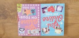 Girl Online AND Girl Online on Tour by Zoe Sugg (Hardback, 2014 and 2015)