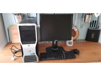 """Dell Precision T5500 Workstation PC with 19"""" Monitor, Keyboard and mouse"""