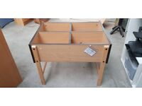 Small Beech Wooden Storage Unit