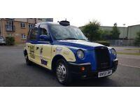 2008 (58) LONDON TAXI INTERNATIONAL TX4 SILVER SPEC AUTOMATIC HACKNEY