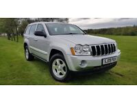 Jeep Grand Cherokee 3.0 CRD V6 Limited 4x4 5dr 1 OWNER+SAT NAV+HEATED LEATHER