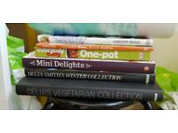 Various recipe books for sale