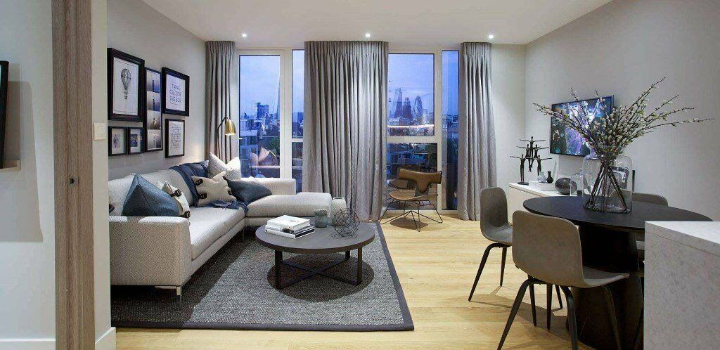 LUXURY BRAND NEW 2 BED LONDON DOCK ARIEL HOUSE E1W WAPPING TOWER BRIDGE ALDGATE CITY TOWER BRIDGE