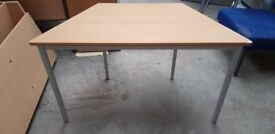 Children's Wooden School Table- Slight Damage To One End