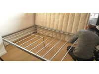 FREE Double bed - frame and mattress