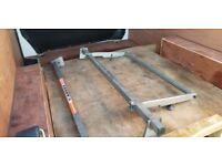 VW Transporter T5 T6 Bars Roof Rack + Rear Roller