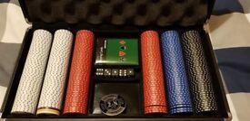 Poker Set in Carry Case