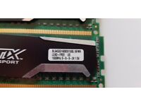 Crucial Ballistix Sport DDR3 16Gb Ram For sale