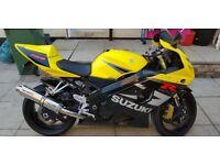 Suzuki GSXR 750 K4 Black/Yellow