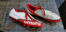 Boys/mens football boots size 9.5