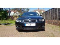 BMW 325d MSport Coupe Black