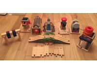 Thomas the tank engine wooden railway accessories, perfect