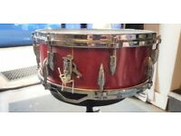 "Ajax Vintage 14"" Snare Drum (Red Sparkle)"