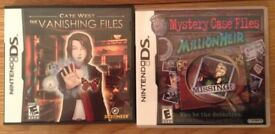 Nintendo DS Mystery Games X 2