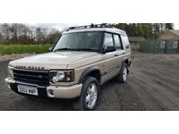 landrover discoverey td5 7seater