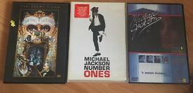 Collection of Michael Jackson items