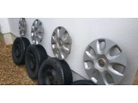 Vauxhall Corsa D Wheels (Set of 4) & Trims