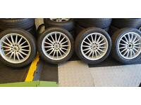 Team Dynamics 17 alloy wheels Citroen, Ford, Vauxhall,Jaguar, Peugeot, Renault, Volvo