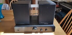 Cambridge Audio stereo amp and bookshelf speakers