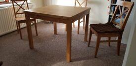 Extendable table - Oak veneer