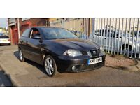 Seat Ibiza 1.4 16v Sport 3dr **7 SEAT SERVICE STAMPS** SPORT SPEC 2007