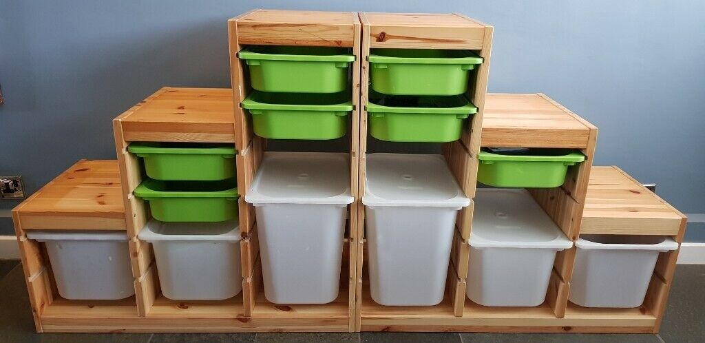 Two Ikea Trofast Storage Units Ideal For Toys In Tonbridge Kent Gumtree