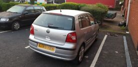 VW POLO 1.4FSI SPORT 5DR MANUAL