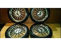 "18"" RS Alloy wheels 4x100"