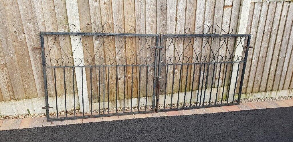8' double drive gates